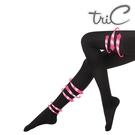 【醫碩科技】Tric 280Den 台灣製造 黑色包趾 壓力褲襪 一雙