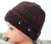 中老年帽子女媽媽帽子老太太秋冬帽毛線針織帽子媽媽婆婆帽子   蜜拉貝爾