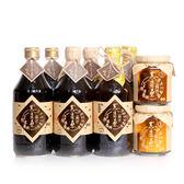 【黑豆桑】小資同樂組( 金豆醬油X2+缸底醬油X2+黑金醬油X2+香豆瓣醬X2 )