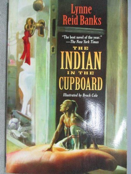 【書寶二手書T6/原文小說_MMH】The Indian in the Cupboard_Lynne
