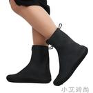 雨鞋套防水鞋套防滑雨天防雨高筒橡膠加厚耐磨底男女雨靴水鞋腳套【小艾新品】
