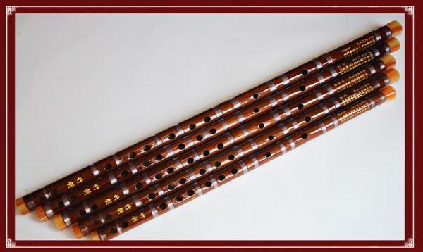 竹笛橫笛成人初學笛一節整支苦竹笛 限時八八折