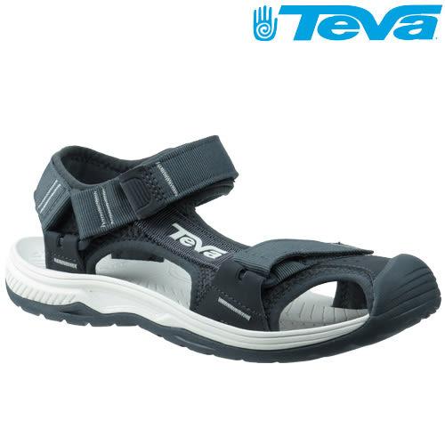 TEVA 護趾專業水陸機能運動涼鞋Hurricane Toe Pro - 灰