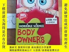 二手書博民逛書店Body罕見Owner s HandbookY15335
