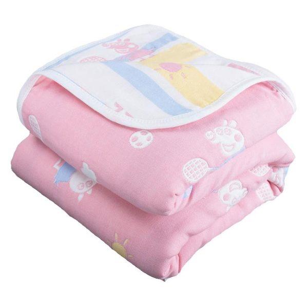六層紗布毛巾被子純全棉雙人夏季空調毯午睡毯兒童夏涼被單人蓋毯 時尚教主