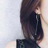 耳環 極簡設計 金屬 弧形 氣質 耳環【DD1608032】 icoca  02/09