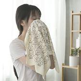 家用吸水男女情侶毛巾洗臉巾成人學生手巾洗澡浴巾干發速干小方巾「公主夜衣館」