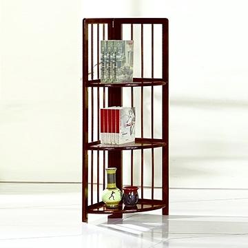 ONE HOUSE-DIY傢俱- 全實木三層轉角收納櫃 (實木層架)