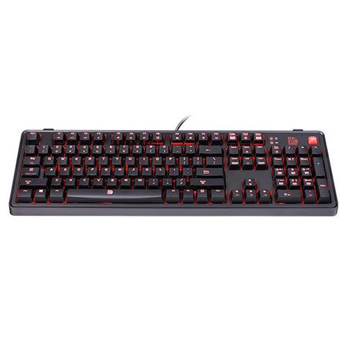 Tt eSports 曜越 拓荒者MEKA PRO 紅光 LED CHERRY軸機械式電競鍵盤(茶軸) (KB-MGP-BRBDUS-01)