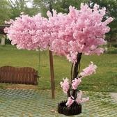 仿真櫻花樹大型桃花樹許愿樹室內酒店商場裝飾造景植物婚慶  城市科技DF