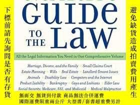 二手書博民逛書店Everybody s罕見Guide To The Law- Fully Revised & Updated 2n