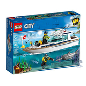 60221【LEGO 樂高積木】城市系列 City-潛水遊艇 Diving Yacht