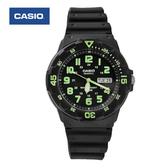 CASIO卡西歐 獨特環保綠色刻度軍裝手錶 休閒運動腕錶 防水100米【NE1424】原廠公司貨