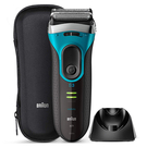 BRAUN【日本代購】百靈 電動刮鬍刀 修剪器3系列 可沐浴用3080s-B