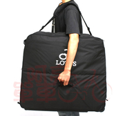 LOTUS  有輪硬底式攜車袋【5312FL】20吋單車使用,黑色《C84-077》