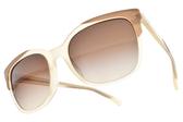 EMPORIO ARMANI 太陽眼鏡 EA4119F 5699-13 (透象牙-漸層棕鏡片) 時尚大方款  # 金橘眼鏡