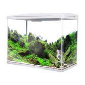 魚缸水族箱客廳水草缸迷你缸熱帶魚玻璃小魚缸家用生態懶人金魚缸LP