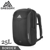 【GREGORY 美國 BORDER多功能電腦背包《像素黑》25L】104089/後背包/旅行背包/登山背包/自助旅行