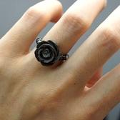 【喨喨飾品】貝殼戒指玫瑰花 S228