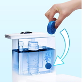 【DJ295】藍泡泡馬桶清潔劑 持久除臭劑 廁所清潔劑 潔廁靈 馬桶 除臭 去汙 潔廁塊★EZGO商城★