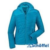 德國 SCHOFFEL 女 防風保暖 連帽外套 藍 2011156