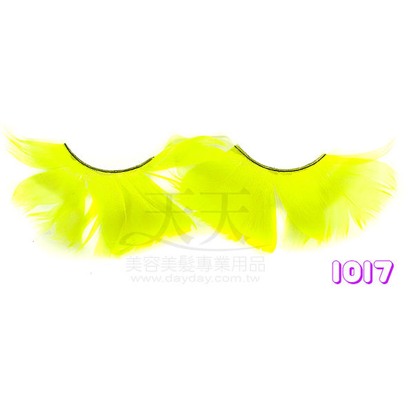 【舞台效果.表演特殊造型】時尚羽毛睫毛 1017 [32368]◇美容美髮美甲新秘專業材料◇