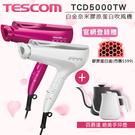 【超值組合】TESCOM  TCD5000TW 白金奈米膠原蛋白吹風機+BALMUDA K02D手沖壺   公司貨