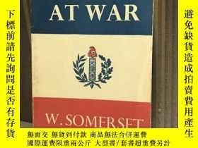 二手書博民逛書店France罕見at war 《戰爭中的法國》英國小說家毛姆作品
