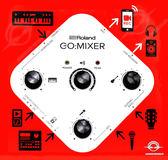 【音響世界】日本ROLAND 新款 GO:MIXER  手機混音器》四件式超值組合》AKGP5S麥克風K52耳機