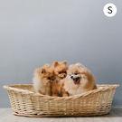 寵物床 編織竹籐寵物床 睡墊 賴床S 動物緣 MYZOO 《Life Beauty》