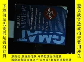 二手書博民逛書店GMAT罕見VERBAL REVIEW 2ND EDITION