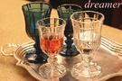 [超豐國際]復古花香系列 浮雕玻璃杯 歐...