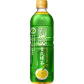茶裏王濃韻日式綠茶600ML【愛買】