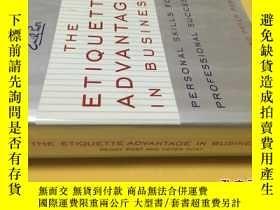 二手書博民逛書店The罕見Etiquette Advantage in BusinessY7215 Peggy Post an