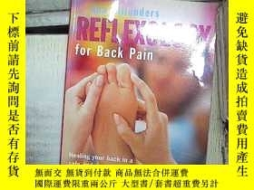 二手書博民逛書店REFLEXOLOGY罕見FOR BACK PAIN 背痛反射療