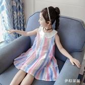 女童連衣裙夏裝大碼女童洋裝新款童裝夏季兒童純棉裙子網紅洋氣女孩公主裙 SN1563【夢幻家居】