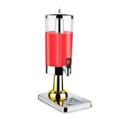 不銹鋼果汁鼎自助飲料機單頭雙頭飲料桶冷飲機商用咖啡果汁機 Gg1410『MG大尺碼』