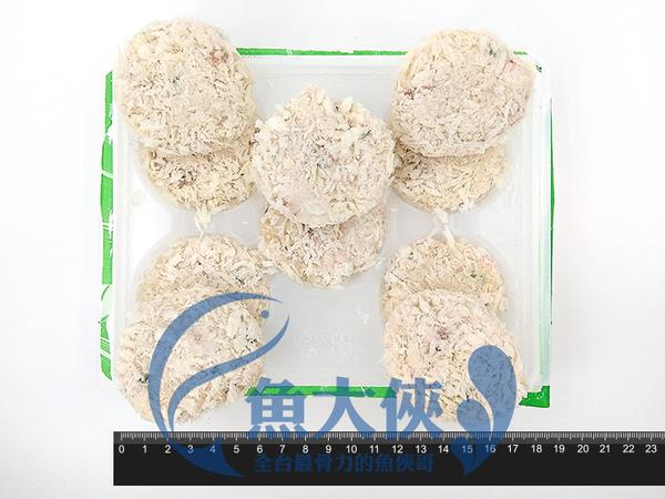 1H3B【魚大俠】FF149金-泰式蝦餅(10片/380g/盤)