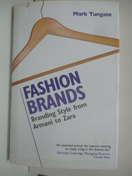 【書寶二手書T8/大學商學_DPW】Fashion Brands: Branding Style From Armani To Zara_Tungate, Mark