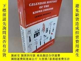 二手書博民逛書店Calendar罕見History Of The Kiowa Indians-基奧瓦印第安人的歷法史Y4366