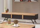 【森可家居】歐曼6尺電視櫃 7ZX389-3 長櫃 是廳櫃 木紋質感 工業風