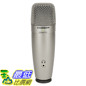[美國直購] Samson SAC01UPRO C01U Pro USB Studio Condenser Microphone 麥克風