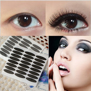 韓國黑色雙眼皮貼 眼線 貼雙眼皮膠 條紙質雙眼皮貼