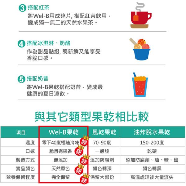 泰國 Wel.B 天然冷凍乾燥鮮果乾 (6種口味) 水果乾 果乾 鮮果餅乾 寶寶零嘴 5900