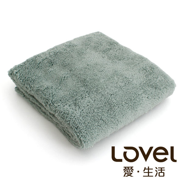 Lovel7倍強效吸水抗菌超細纖維小浴巾(湖水綠)
