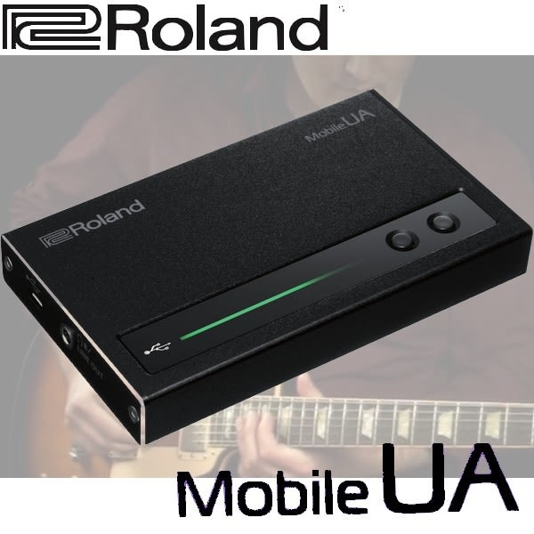【非凡樂器】Roland Mobile UA USB音訊錄音介面 / 公司貨保固