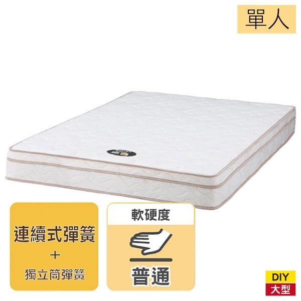 ◆【新竹物流配送】彈簧床 床墊 連續彈簧 MOSTRA2 單人 NITORI宜得利家居