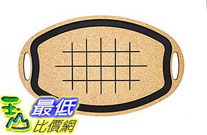 [106 美國直購] Epicurean 005-23150102 美國製 砧板 Carving Series Oval Cutting Board, 23.5-Inch by 15.25-Inch