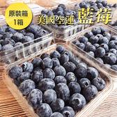 【免運】美國空運藍莓原裝箱12盒*1箱(約125g/盒)