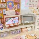 網美懶人手機支架創意復古桌面床頭看電視支架電視機抽紙盒IG風【小獅子】